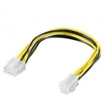 PremiumCord Redukce napájení 8 pin/Male zdroj na P4 4pin/Female