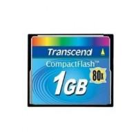 Transcend 1GB CF Card (80X) compact flash memory card