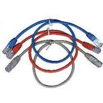 Kabel C-TECH patchcord Cat5e, UTP, šedý, 1m