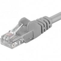 PremiumCord Patch kabel UTP RJ45-RJ45 CAT6 0.25m šedá