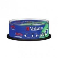 VERBATIM CD-R 700MB, 52x, spindle 25 ks