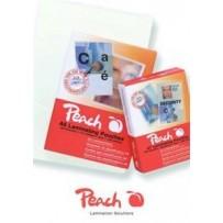PEACH laminovací folie lesklé, 100ks Credit Card, 54x86mm, 125mic