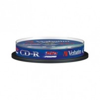 VERBATIM CD-R 700MB, 52x, spindle 10 ks