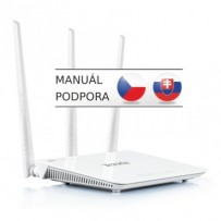 Tenda F3 - Wireless-N Router 802.11b/g/n, 300Mbps, 1x WAN, 3x LAN, 3x Ext. Ant.