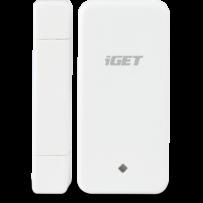 iGET SECURITY M3P4 - Bezdrátový magnetický senzor pro dveře/okna k alarmu M3/M4, detekce při otevření (oddálení magnetu)