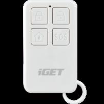 iGET SECURITY M3P5 - Dálkové ovládání - klíčenka k alarmu M3/M4, pro aktivaci/deaktivaci alarmu