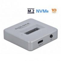 Delock Dokovací stanice M.2 pro SSD M.2 NVMe PCIe se USB Type-C™ samice