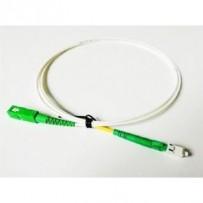 OPTIX SC/APC-LC/APC FLEXI optický patch cord G.657B3 2mm 10m bílý simplex