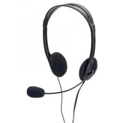 Ednet Headset s ovladaním hlasitosti, 1,8m
