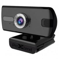 """ProXtend webkamera X201 Full HD, USB, mikrofon, 1/2.7"""" CMOS, černá - ZÁRUKA 5 LET"""