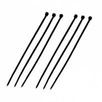DATACOM Stahovací páska (2.5x100) černá 100ks