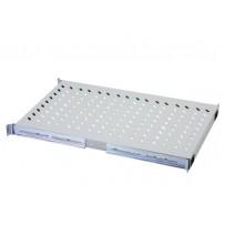 Digitus 1U pevná police pro stojany od hloubky 1000 mm 44x483x737 mm, do 100 kg, šedá (RAL 7035)