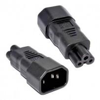 "Premium Cord Adaptér IEC C14 na IEC C5 ""trojlístek"" napětí 230V, 10A"