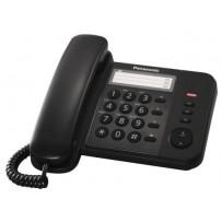 Panasonic KX-TS520FXB - jednolinkový telefon, černý