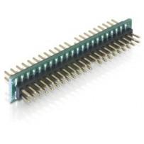 Delock Adaptér 44 pin IDE samec - 44 pin IDE samec