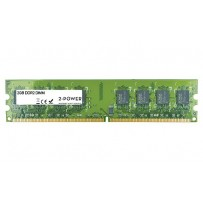 2-Power 2GB MultiSpeed 533/667/800 MHz DDR2 Non-ECC DIMM 2Rx8 ( DOŽIVOTNÍ ZÁRUKA )