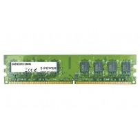 2-Power 2GB MultiSpeed 533/667/800 MHz DDR2 Non-ECC DIMM 2Rx8 ( DOŽIVOTNÍ ZÁRUKA )