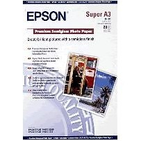 EPSON Paper A3+ Premium Semigloss Photo (20 sheets)