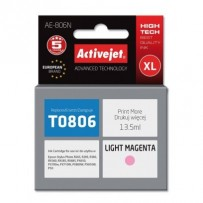 ActiveJet Ink cartridge Eps T0806 R265/R360/RX560 LighMagen - 12 ml AE-806