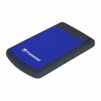 """TRANSCEND 1TB StoreJet 25H3B SLIM, 2.5"""", USB 3.0 (3.1 Gen 1) Externí Anti-Shock disk, tenký profil, černo/modrý"""
