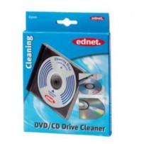 Ednet. - Speciální čistící CD se super měkkým kartáčem pro čištění čoček laseru CD-disků