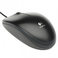 Logitech myš B100, optická, 3 tlačítka, černá,800dpi