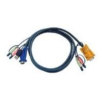 ATEN integrovaný kabel pro KVM USB 3m pro CS1758