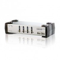 ATEN CS1734AC-AT 4 PORT KVM & USB FOR PS2 W/1.8