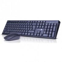 CONNECT IT Combo bezdrátová černá klávesnice + myš, 2,4GHz, USB, CZ + SK layout, černá