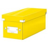 Krabice na CD Leitz Click&Store, žlutá