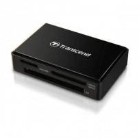 Transcend RDF8 USB 3.0 čtečka paměťových karet SDHC/SDXC (UHS-I), microSDHC/SDXC (UHS-I), CompactFlash (UDMA7), černá