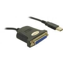 Delock konvertor USB--Paralelní 25-pin (matice) 0,8 m