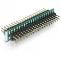Delock Adaptér 40 pin IDE samec - 40 pin IDE samec
