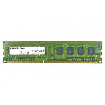 2-Power 4GB PC3L-12800U 1600MHz DDR3 CL11 Non-ECC DIMM 1Rx8 1.35V ( DOŽIVOTNÍ ZÁRUKA )