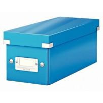 Krabice na DVD Leitz Click&Store, modrá