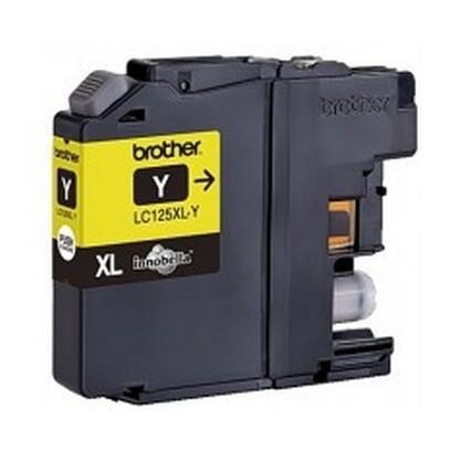 LC-125XLY (inkoust yellow, 1200 str.@ 5% draft)