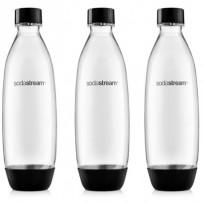 SodaStream Lahev FUSE 3Pack 1l černá
