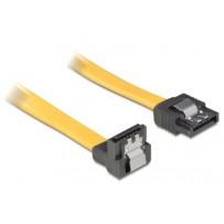 Kabel HDD SATA 10 cm přímý/dolů