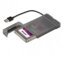 "i-Tec MySafe Easy externí case pro 2,5"" SATA I/II/III SSD, USB3.0, Black - bez HDD"