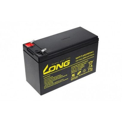 Baterie Long WP7-12 (12V/7Ah - Faston 187)