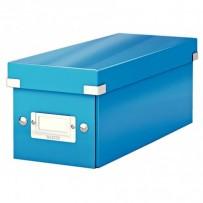 Krabice na CD Leitz Click&Store, modrá