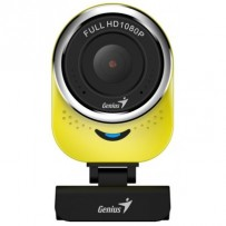GENIUS webová kamera QCam 6000/ žlutá/ Full HD 1080P/ USB2.0/ mikrofon