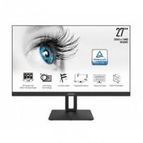 "MSI monitor PRO MP271QP, 27""/2560 x 1440 (QHD)/IPS/5ms/1000:1/300cd / m2/2x HDMI/DP"