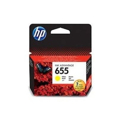 HP CZ112AE Ink Cart No.655 pro DJ4615, 5525, 600str., Yellow