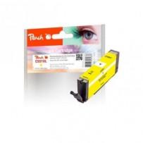 PEACH kompatibilní cartridge Canon CLI-551Y, yellow, 8,5 ml
