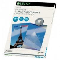 Laminovací kapsy Leitz A4 se směrovací technologií, 100 mic (100 ks)