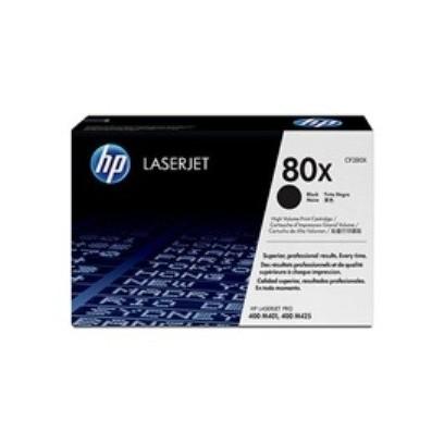 HP CF280X Toner 80X pro LJ M401, M425MFP, (6900str), Black