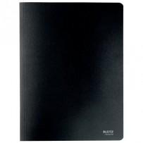 Ekologické kartonové desky s rychlovazačem Leitz RECYCLE, A4, černá