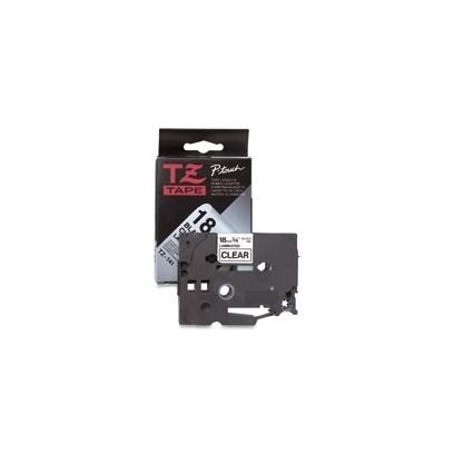 Brother - TZe-FX251, bílá / černá, 24 mm, s flexibilní páskou