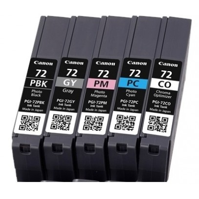 Canon cartridge PGI-72 PBK/GY/PM/PC/CO Multi Pack (PGI72multipack)